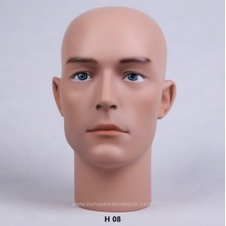 Male Mannequin Head H08 - 55 cm