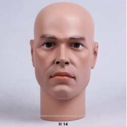 Male Mannequin Head H14 - 54 cm