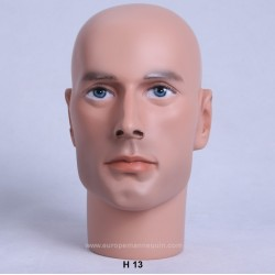 Male Mannequin Head H13 - 54 cm