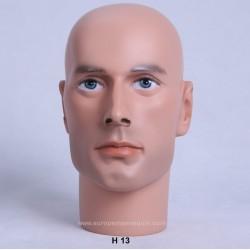 Male Mannequin Head H13 - 54 cm