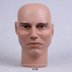Male Mannequin Head H34 - 54,5 cm