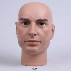 Male Mannequin Head H37 - 53,5 cm