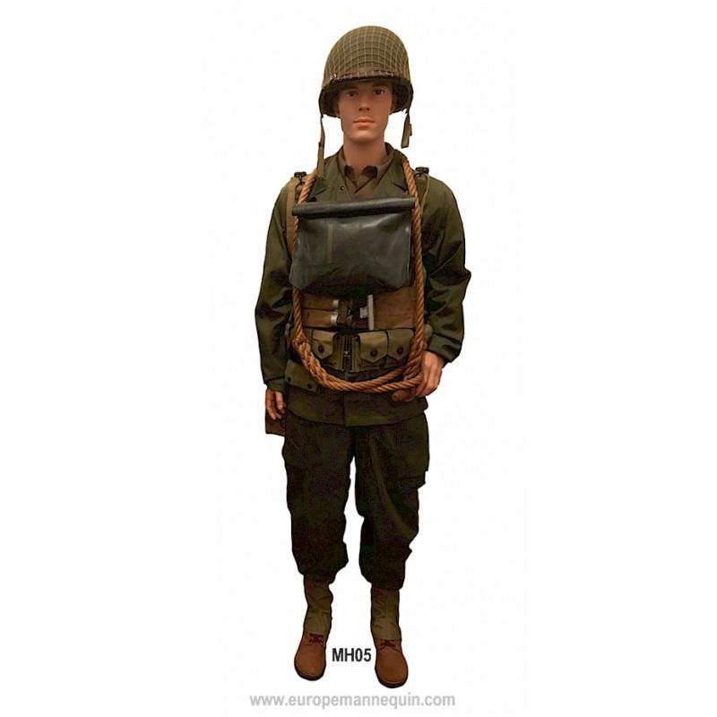 europe mannequin hommes articul s pour mus es et collectionneurs militaria militaire collection. Black Bedroom Furniture Sets. Home Design Ideas