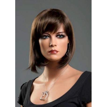 Female wig PFE01 - Brown