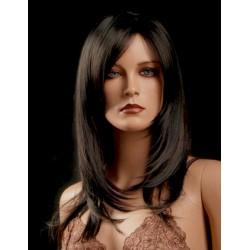 Female wig PFE02 - Black