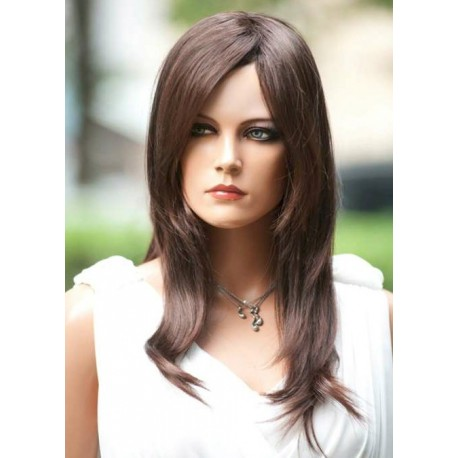 Female wig PFE02 - Brown