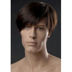 Male wig PHM04 - Black
