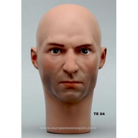 Male Mannequin Head TE04 - 53,5 cm