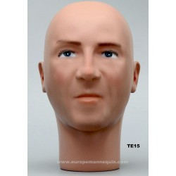 Male Mannequin Head TE15