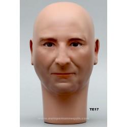 Tête de Mannequin Homme TE17