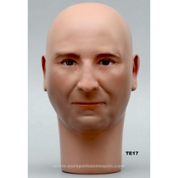 Male Mannequin Head TE17