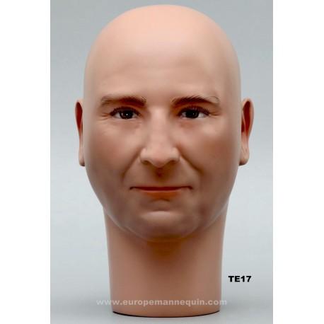 Male Mannequin Head TE17