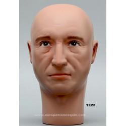 Tête de Mannequin Homme TE22
