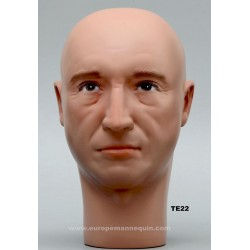 Male Mannequin Head TE22