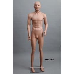 Homme debout MDP TE15 Tête amovible