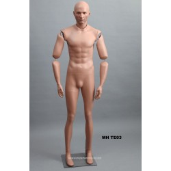Articulated Standing Male MH TE03 Removable head