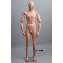 Articulated Standing Male MH TE04 Removable head
