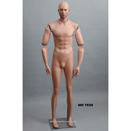 Articulated Standing Male MH TE08 Removable head
