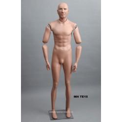 Homme debout articulé MH TE15 Tête amovible