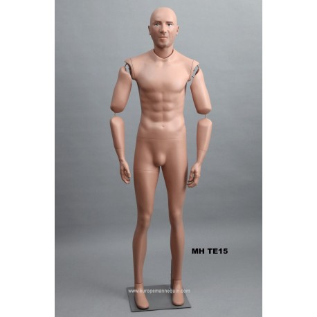 Articulated Standing Male MH TE15 Removable head
