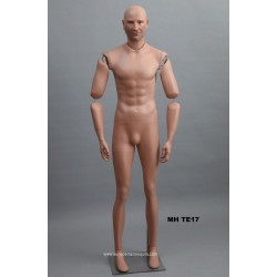 Articulated Standing Male MH TE17 Removable head