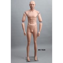 Homme debout articulé MH TE20 Tête amovible