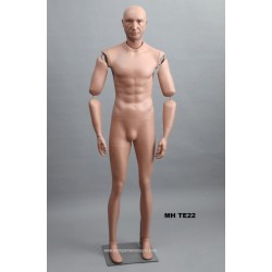 Articulated Standing Male MH TE22 Removable head