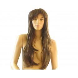 Female wig PFE04 - Brown