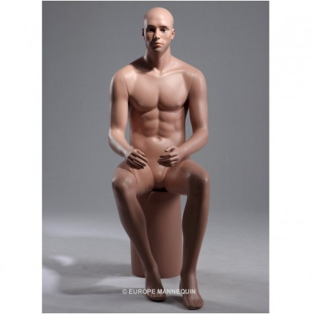 Europe Mannequin Homme Assis HOMA6