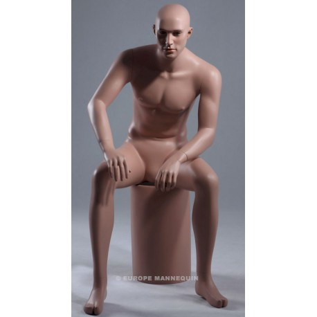 Europe Mannequin Sitting Male MSA02P