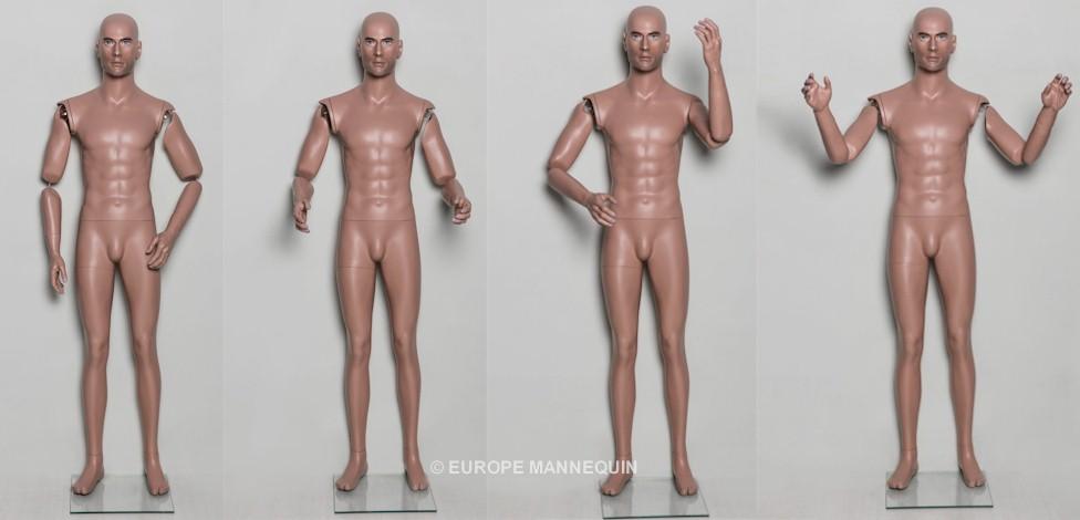 Europe Mannequin Mannequins articulés