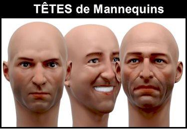 Europe Mannequin Collection Militaria Musée Tête Homme Réaliste Casque Coiffure