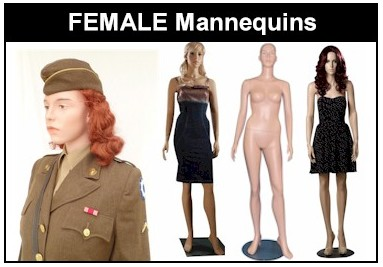 Europe Mannequin FEMALE