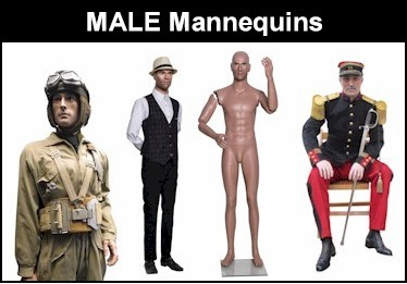 Europe Mannequin MALE