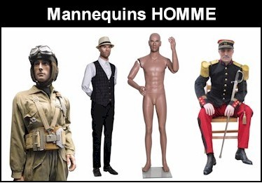 Europe Mannequin HOMME